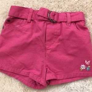 Shorts infant girls new size 12 months cotton pink